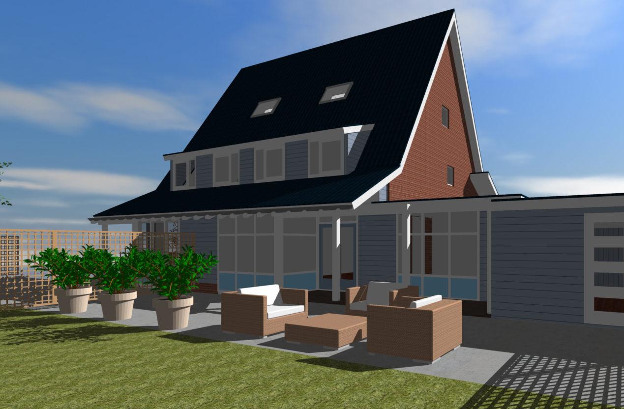 Aanbouw woning Ypenburg