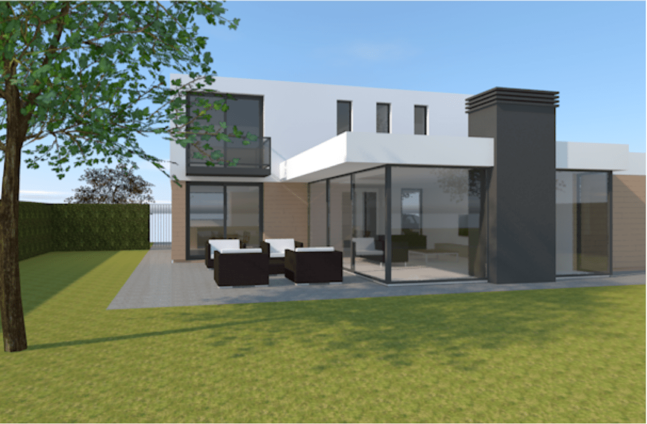 Nieuwbouw woning Hoek van Schieland