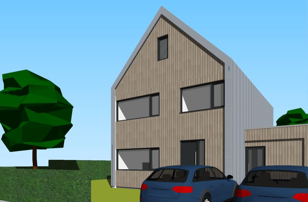 Ontwerp nieuwbouwwoning Vroondaal